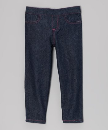 Medium Wash Jeans - Infant, Toddler & Girls
