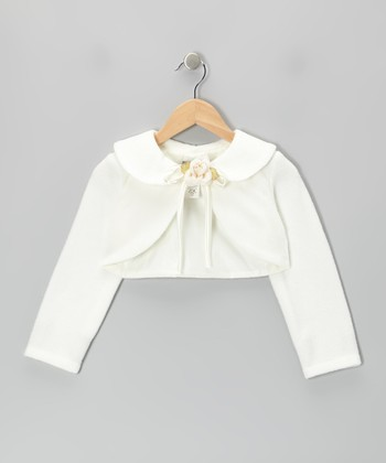 Ivory Rose Bolero - Toddler & Girls