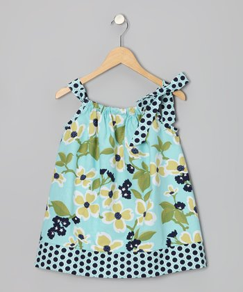 Blue Lake Swing Dress - Infant & Toddler