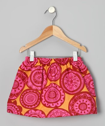 Pink Sun Skirt - Toddler & Girls