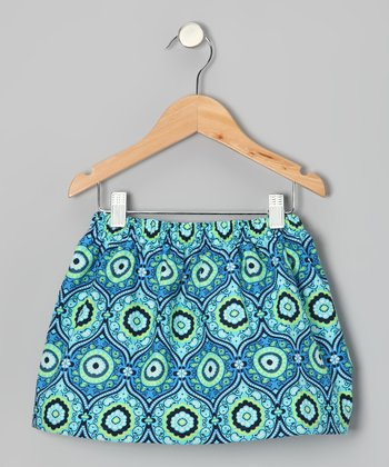 Ocean Arabesque Skirt - Toddler & Girls