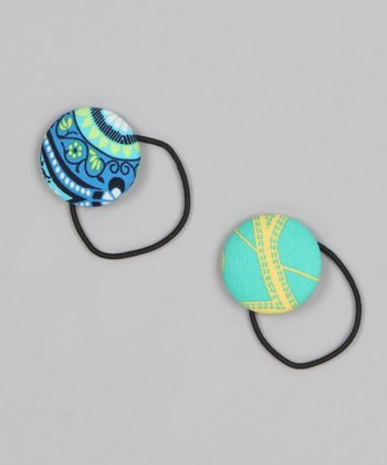 Ocean Arabesque Hair Tie Set