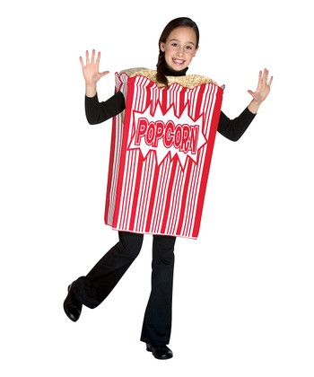 Red & White Popcorn Dress-Up Outfit - Kids