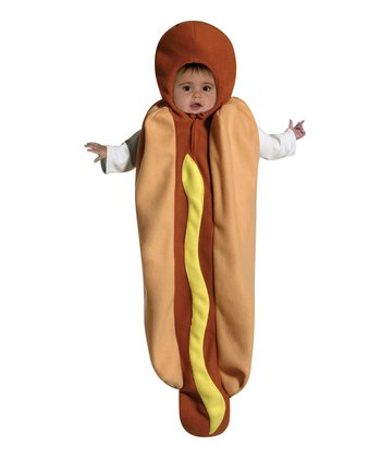 Brown Hot Dog Dress-Up Outfit - Infant