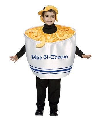 Yellow & White Mac 'n' Cheese Dress-Up Set - Kids