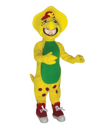 Yellow BJ Dinosaur Dress-Up Set - Infant & Kids