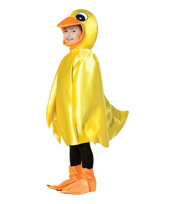 Yellow Ducky Dress-Up Set - Toddler
