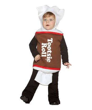 Brown Tootsie Roll Dress-Up Outfit - Infant