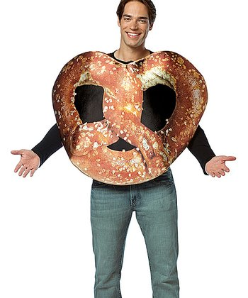Brown Get Real Pretzel Dress-Up Outfit - Adult