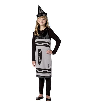 Black Crayola Crayon Dress-Up Set - Girls