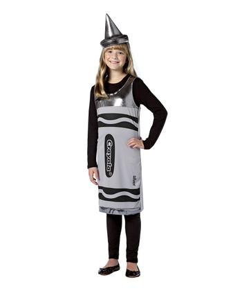Silver Crayola Crayon Dress-Up Set - Girls