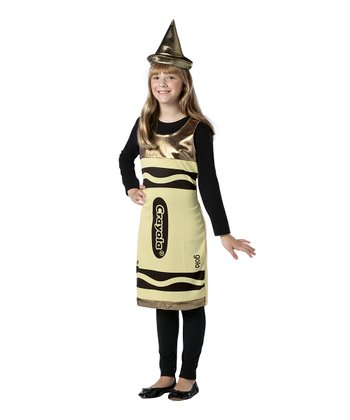 Gold Crayola Crayon Dress-Up Set - Girls