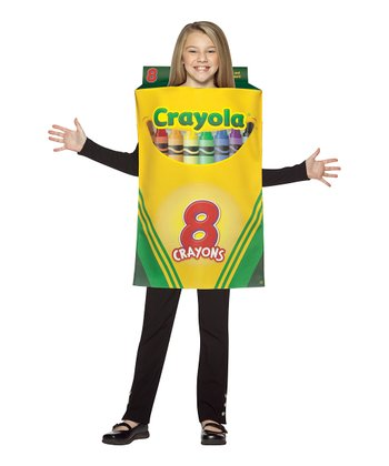 Yellow Crayola Crayon Box Dress-Up Outfit - Kids