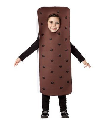 Brown Ice Cream Sandwich Dress-Up Outfit - Toddler
