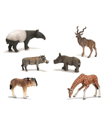 Wild Animal Figurine Set