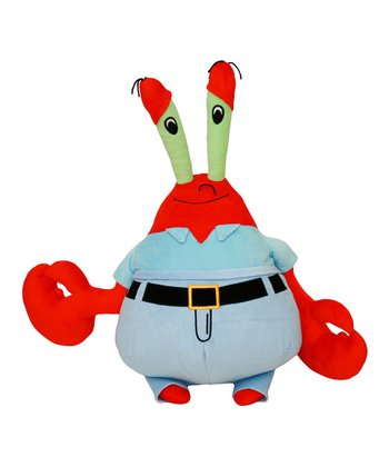 13'' Mr. Krabs Plush Toy