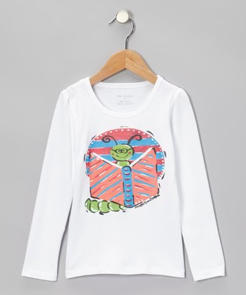 White Caterpillar Tee - Infant, Toddler & Kids