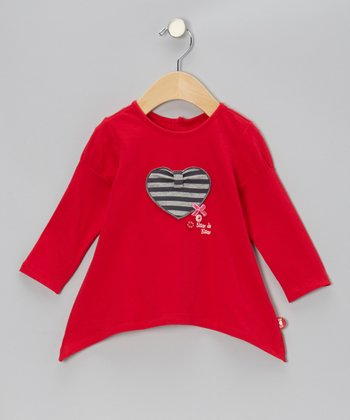 Rouge Heart Sidetail Tunic - Infant