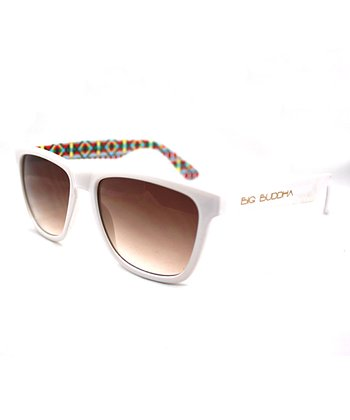 White Tribal Sunglasses