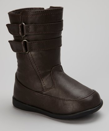Brown Double-Strap Boot