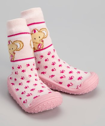 Pink Elephant Gripper Shoe