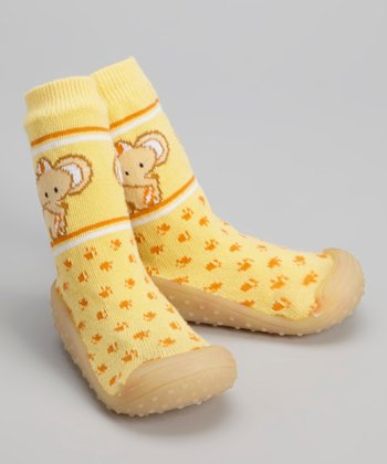 Yellow Elephant Gripper Shoe