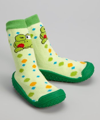 Green Frog Gripper Shoe