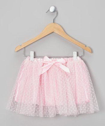 Pink Polka Dot Tutu - Toddler & Girls