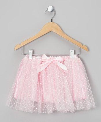 Pink Polka Dot Tutu - Toddler & Girls