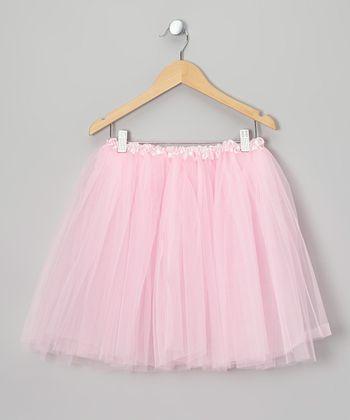 Pink Long Tutu - Toddler & Girls