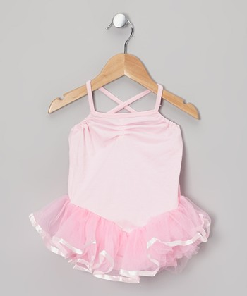 Pink Ballerina Tutu Leotard - Toddler & Girls