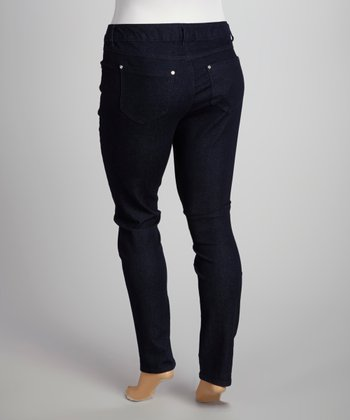 Black Skinny Jeans - Plus