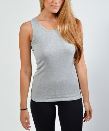 Heather Gray Tank