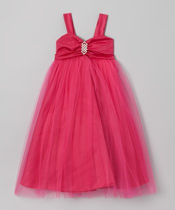 Hot Pink Tulle Dress - Toddler