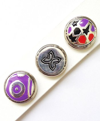 Purple Charm Set