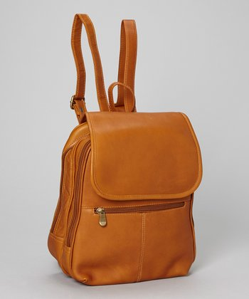 Tan Everything Backpack