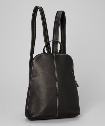 Black U-Zip Sling Backpack
