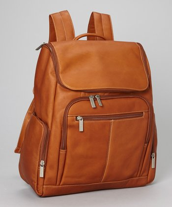 Tan Laptop Backpack