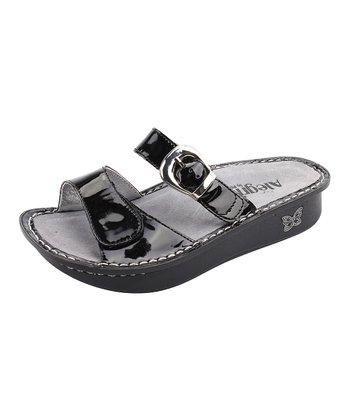 Black Patent Karmen Slide - Women