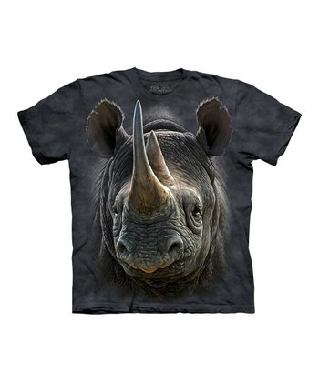 Gray Rhino Tee - Toddler & Kids