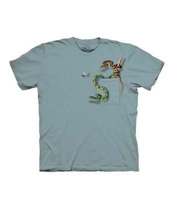 Blue Snake Pocket Tee - Toddler & Kids