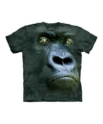 Black Silverback Tee - Toddler & Kids
