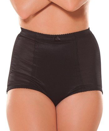 Black Double-O Tummy Tucker Girdle - Women & Plus