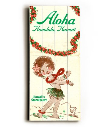 Personalized Hawaii Wall Art