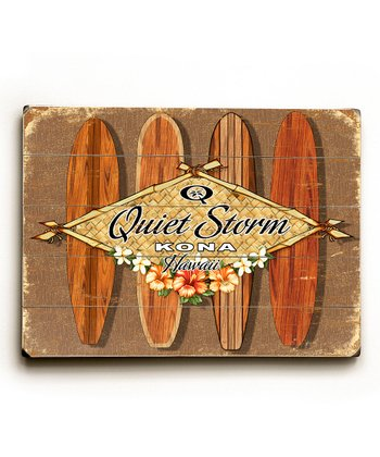Personalized 'Quiet Storm' Wall Art