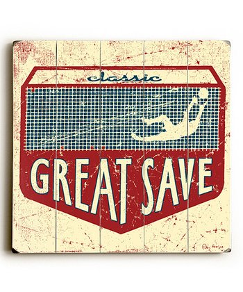 Artehouse 'Great Save' Wall Art
