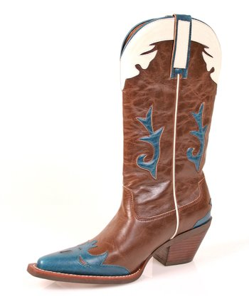 Crazyhorse Pokie Cowboy Boot - Women