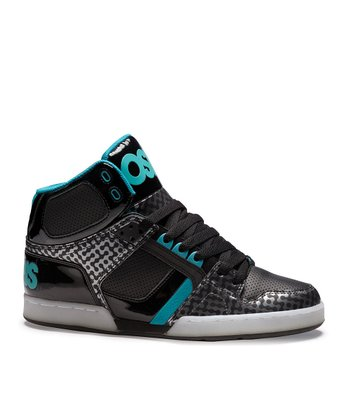 Black & White NYC 83 Hi-Top Sneaker - Kids