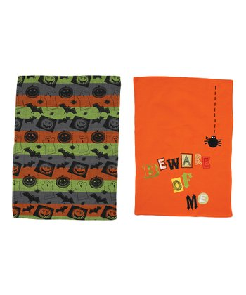 Tricks & Treats Dish Towel Set
