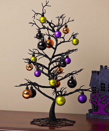 Halloween Tree Figurine & Ornament Set